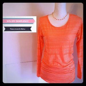 Maurices inMotion Neon Orange Top